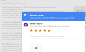 Cultivating Google Reviews